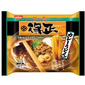 日清 得正カレーうどん280gX12袋 冷凍食品