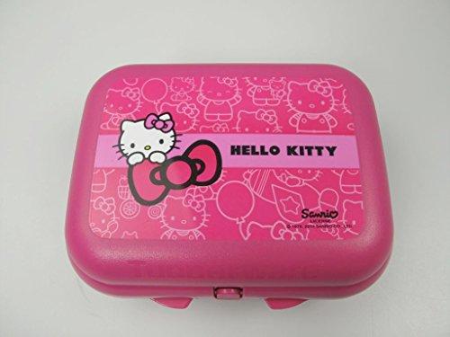 TUPPERWARE To Go Twin Hello Kitty pink Brotdose Behälter Vesperbox Größe 2