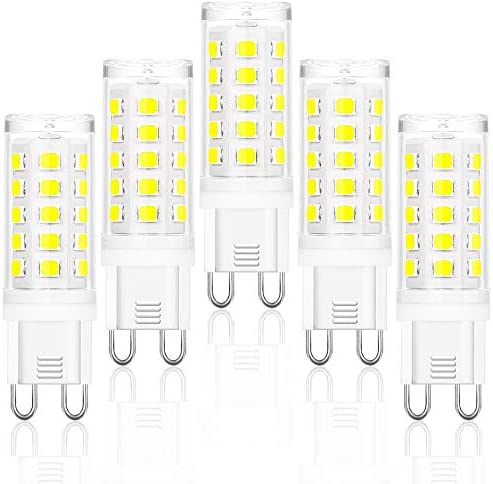 G9 LED Bulb Dimmable 40 Watt Halogen Equivalent G9 Light Bulb Comzler 4W 6000K Warm White CRI80 product image