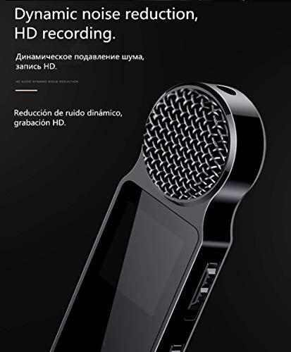 A+ Npeiyi Digital - Voice Tracer - Audio Recorder, registratore Distanza, 8GB, Display a Colori for Meeting, Lecture, Lunga intervista Tempo di Registrazione Magnetica (Color : 32g)