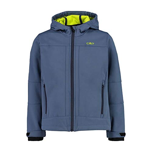 CMP Jungen Softshell Jacket with ClimaProtect WP 7.000 Technology Jacke, Blue Pluto, 140