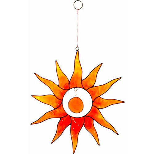 Sonne orange Suncatcher