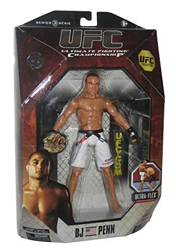 """BJ Penn ~7.25"""" Figure: UFC Ultra-Flex Figure Collection Series #3 [UFC 84]"""