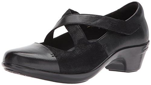 Aravon Women's Kitt Cross Strap Dress Pump, Black Multi, 7 Wide