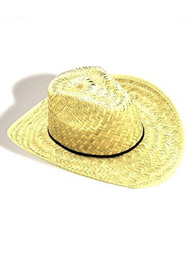 Forum Novelties Straw Cowboy Hat Adult (One-Size)