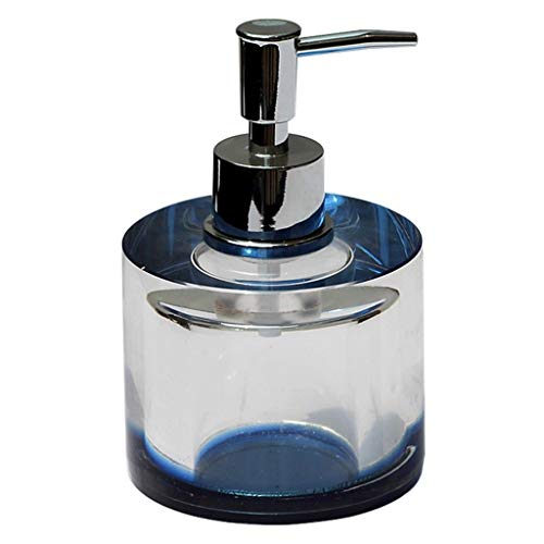 YIXIN2013SHOP Dispensador de Jabón Dispensador Manual del jabón de la loción del Cuarto de baño del hogar del dispensador del jabón del Cristal de Alto Grado Dispensador de Loción (Color : B)