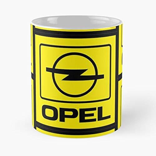 Amnautical Car Vauxhall Opel Germany Motors General Cars Retro German Best 11 oz Kaffeebecher - Nespresso Tassen Kaffee Motive