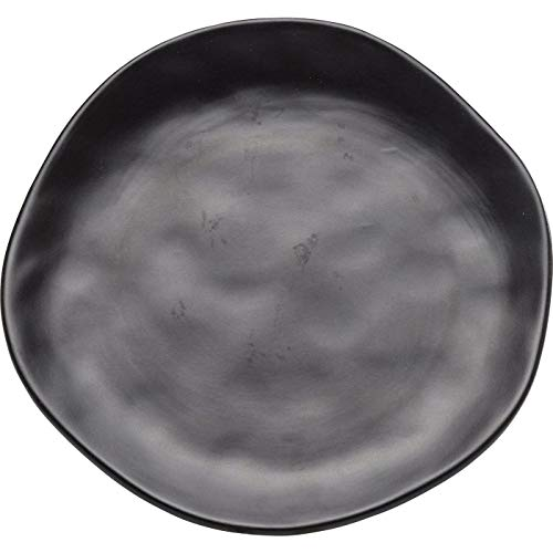 Kare Teller Organic Black 26 cm