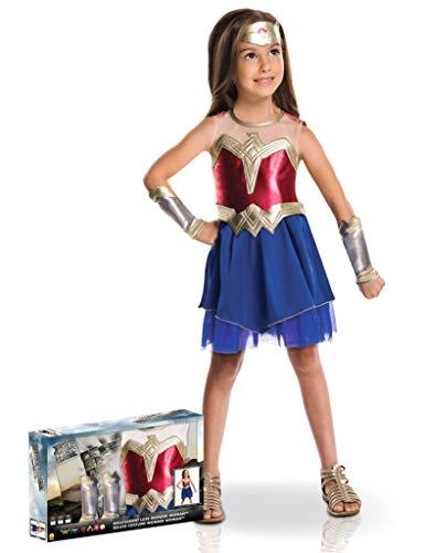 Generique - Disfraz Wonder Woman Caja niña 5 a 6 años (105 a 116 cm)