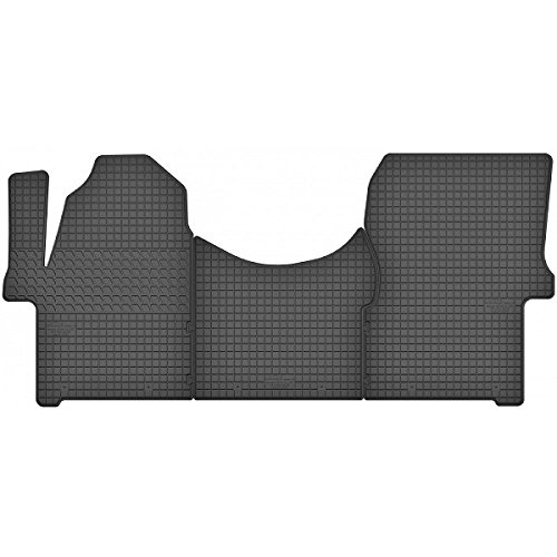 Motohobby Alfombrillas de goma para Mercedes Sprinter a partir de 2006, juego de alfombrillas 100% adaptables + botones de fijación