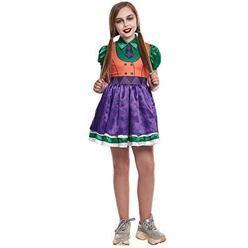 Disfraz Bufona Joker Niña (3-4 años) Halloween (+ Tallas)