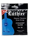 CUERDAS GUITARRA CLASICA - Luthier (LU/30) Concert Silver/30 (Juego Completo)