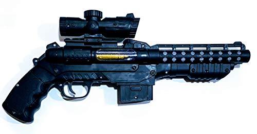 MRM Pistola ELECTRICA con LUZ Y Sonido
