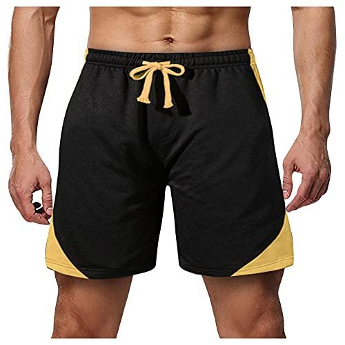 Pantalones cortos para hombre, transpirables y transpirables, corte ajustado, cómodos y transpirables....
