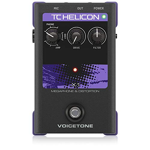TC Electronic Vocal Effects Processor (VOICETONE X1)
