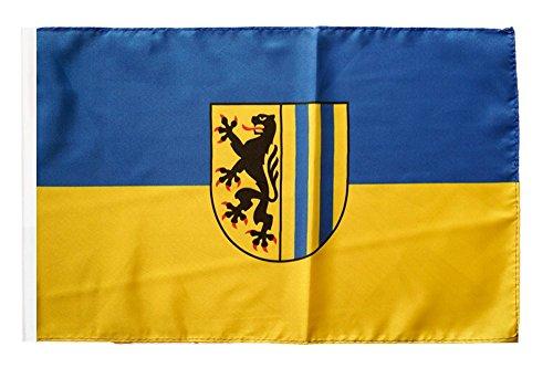 Flaggenfritze® Flagge Deutschland Stadt Leipzig - 30 x 45 cm