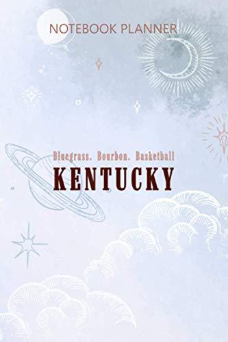 Notebook Planner Bluegrass Bourbon Basketball Kentucky: Work List, 114 Pages, Home Budget, Daily Journal, 6x9 inch, To Do List, Meeting, Appointment