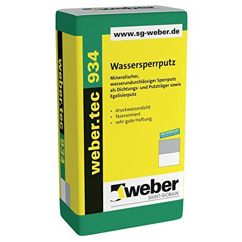 weber.tec 934, 25kg - Wassersperrputz