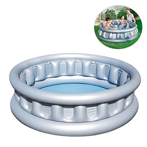 Aufblasbare Pools,Wasserspeicherkapazität 512 Liter PVC Aufblasbare Badewanne Planschbecken 152 * 43CM,Säugling Sand Pool Ball Pool Family Pool Außenpool Für Kinder