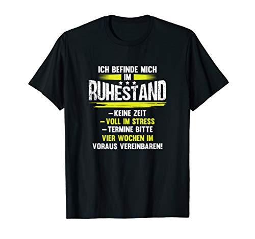 Herren Rentner Ruhestand Sprüche T-Shirt von Pensioner-Tee T-Shirt