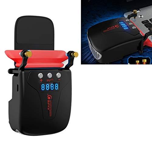 Práctico Notebook Radiador de ventilación Inteligente Tipo de Control de Temperatura del Ordenador Cooling Pad (Color : Black)