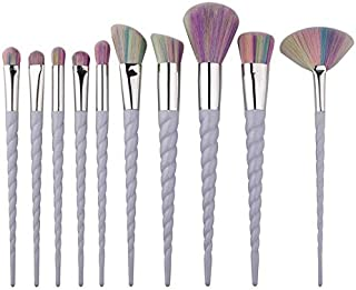 10pcs Professional Unicorn Makeup Brushes Set
