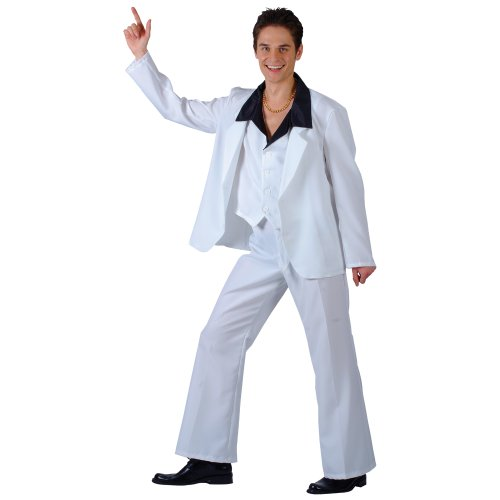 70'S DISCO FEVER FANCY DRESS COSTUME MENS SIZE 36-38 S (1970S)