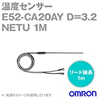 オムロン(OMRON) E52-CA20AY D=3.2 NETU 1M 温度センサ リード線直出形 (耐熱用) (保護管長 20cm φ3.2) NN