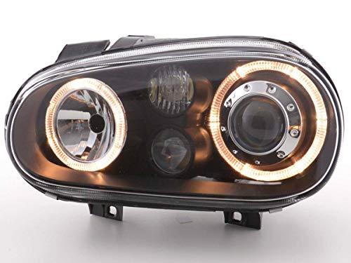 Golf 4 IV Angel Eyes Scheinwerfer inkl. Nebelscheinwerfer schwarz SET