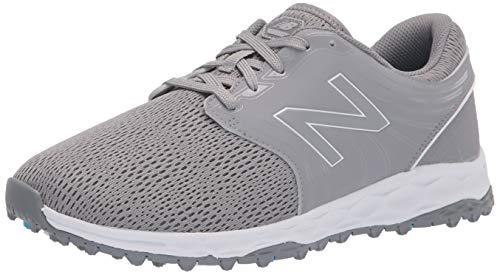 New Balance Women's Fresh Foam Breathe Golf Shoe, Grey, 10 Wide