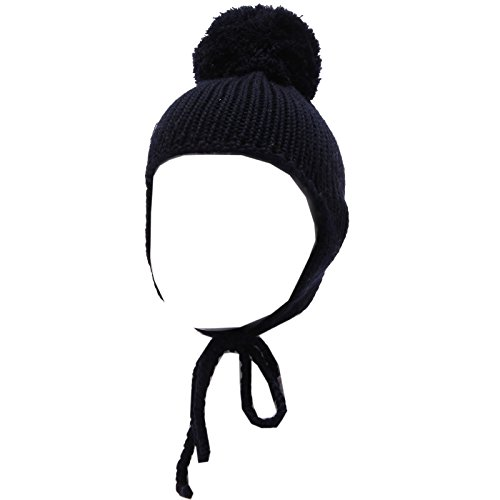 Regina by Angela Maffei 1724W cuffia bimba wool blue hat girl [0/35 CM]
