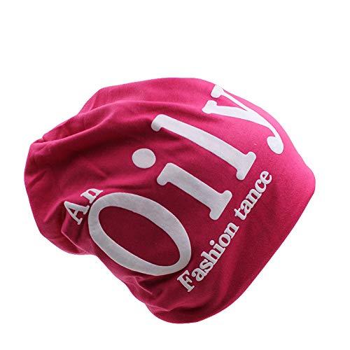 Bonnet Unisexe Chapeau tricoté Homme Beanie Hats, Mode Femmes Chapeau Automne Hiver Chaud Chapeaux pour Femmes s Cap Bonnets Lettre Solide Polyester Hommes Casquettes Bonnet Vente @ Rose