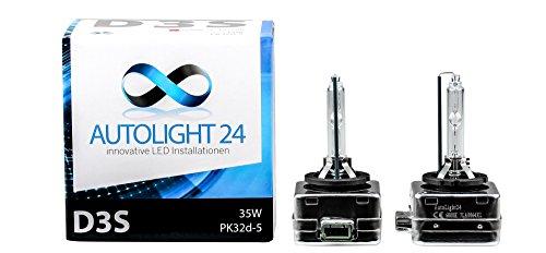 2 x Premium Xenon Brenner D3S Lampen Birnen E-Zulassung A1 6000 Kelvin