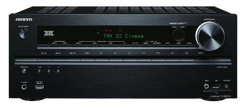 Onkyo TX-NR616 7.2 Netzwerk AV-Receiver für Apple iPhone/iPod (HD-Audio, 3D Ready, RDS, USB 2.0, 160 W/Kanal) schwarz