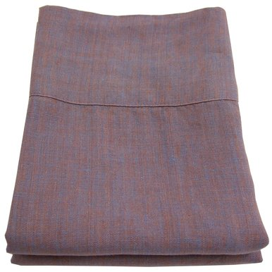 Linoto 100% Linen Pillowcases Copper Plum 31x20 Fits Standard or Queen Pillow Made in USA-Ships Free in Continental USA