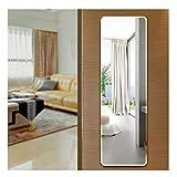 Frameless Door Mirrors Wall Mirror Full Length Body Mirror for Wall Mounted Bedroom Closet Wardrobe Long Size Mirror