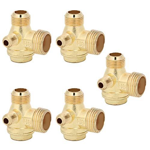 1/2x3/8x10 Air Pump Valve Compressor 1‑Way Aquarium Air Pump for Prevent Gas Backflow for Truncated