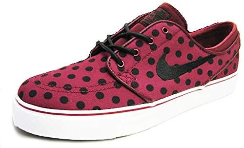 nike SB zoom stefan janoski canvas PRM mens trainers 705190 sneakers shoes (uk 8 us 9 eu 42.5, team red black white 601)