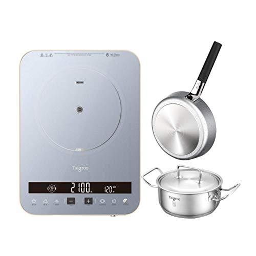AKAMAS Placas Calientes Cocina Digital Individual Cocina de arroz portátil, 230  Cocina Saludable, botón de Inicio Inteligente, Resistente a los arañazos y reducción de Ruido Baibao (Color : 4)