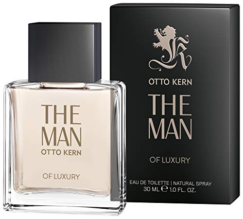 Otto Kern® The Man of Luxury I Eau de Toilette - für den zielstrebigen Mann - holzig - markant I 30ml Natural Spray Vaporisateur