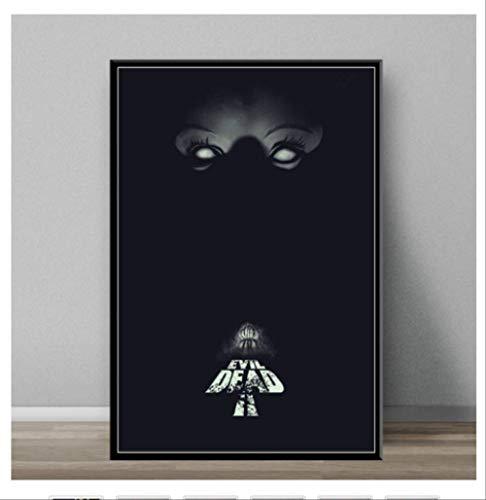 DPFRY Leinwand Malerei Evil Dead Classic Horrorfilm Kunst Malerei Leinwand Poster Wand Dekoration Mw11T 40X60 cm Ohne Rahmen