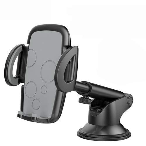 ZJN-JN pieza del coche Cell coche soporte for teléfono universal cuello largo de múltiples funciones del teléfono del coche ventosa Center Console/Salida de aire/de vidrio frontal de tres vías del