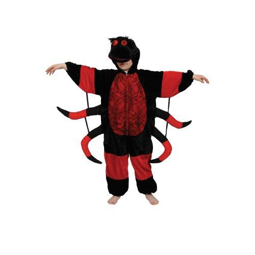Wicked - Disfraz de halloween araña infantil, talla L