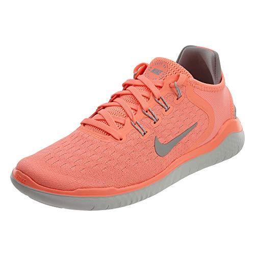NIKE Womens Free Run 2018 Running Shoes Crimson Pulse/Atmosphere Grey 942837-800 Size 7
