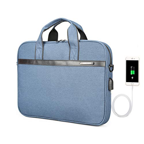 Anti-Theft Business Laptop Backpack ? USB Charging Port and Earphone Port with Lock Slim Water Resistant Bag ?15.6 Inch? (D,15.6 Inch)