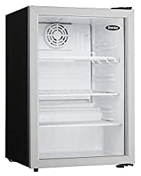 in budget affordable Dumby Compact DAG026A1BDB2.6 Cu.Ft. Commercial mini refrigerator, glass door refrigerator for table, …