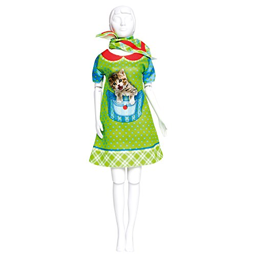 Dress your doll - Puppenkleider selber machen - Level 2 - Twiggy Kitten
