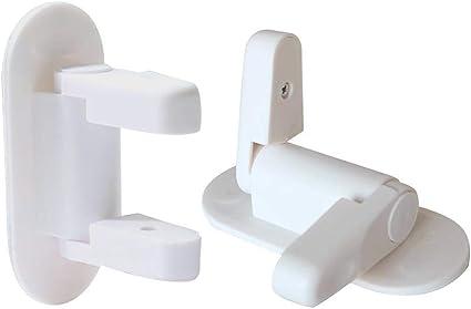 WLT Door Lever Lock ,2 PCS Baby Safety Door Lock Adhesive Child Safety Locks for Kitchen,Bedroom and Living Room Door Lock