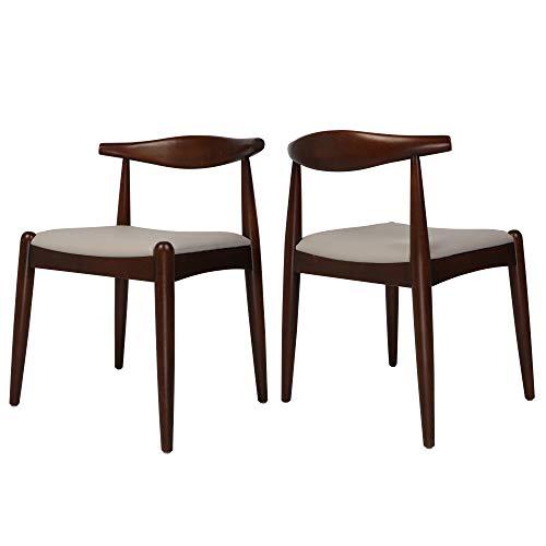 Koreyosh Mid Century Modern Side Dining Chairs...