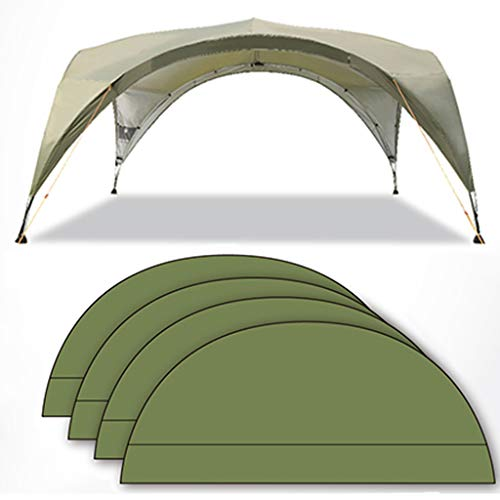 Tent Gazebo Dome for Garden Camping, Outdoor Event Shelter With Screen Door, Awning For Family, Travel, Holiday, Starry Sky/green/khaki
